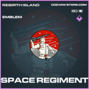 Space Regiment emblem Call of Duty Black Ops Cold War and Warzone