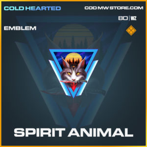 Spirit Animal emblem in Call of Duty Black Ops Cold War and Warzone