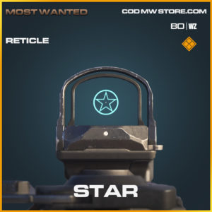 Star Reticle legendary call of duty black ops cold war and warzone item
