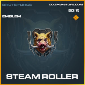 Steam Roller emblem in Call of Duty Blacks Ops Cold War in Warzone