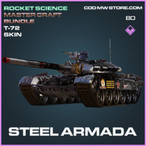 Steel Armada T-72 tank Skin in Call of Duty Black Ops Cold War
