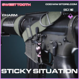 Sticky Situation Charm in Call of Duty Black Ops Cold War and Warzone