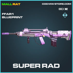 Super Rad FFAR1 Skin rare blueprint in Call of Duty Black Ops Cold War and Warzone