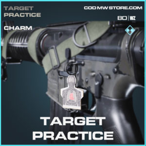 Target Practice charm in Call of Duty Black Ops Cold War and Warzone