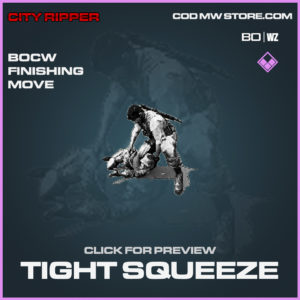 Tight Squueze Epic Black Ops Cold War & Warzone Finishing Move