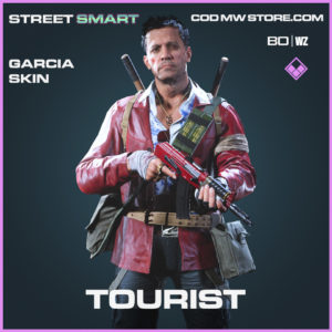 Tourist Garcia skin Call of Duty Black Ops Cold War and Warzone