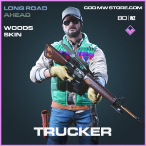 Trucker Woods Skin Call of Duty Black Ops Cold War and Warzone