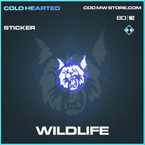 Wildlife sticker in Call of Duty Black Ops Cold War and Warzone