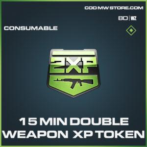 15 Min Double Weapon XP Token Consumable in Black Ops Cold War and Warzone