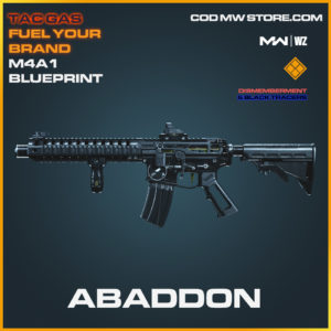 Abaddon M4A1 blueprint skin in Modern Warfare and Warzone