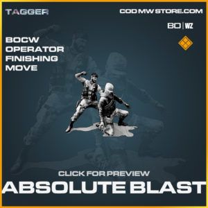 Absolute BLast Operator Finishing move in Black Ops Cold War and Warzone