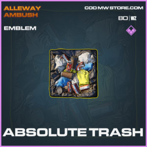 Absolute Trash emblem in Black Ops Cold War and Warzone