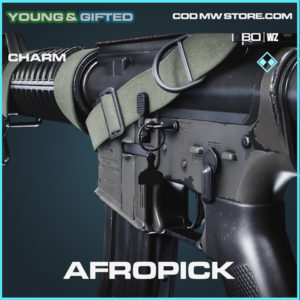 Afropick charm in Black Ops Cold War and Warzone