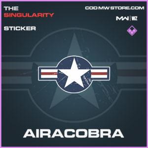 Airacobra sticker in Modern Warfare and Warzone
