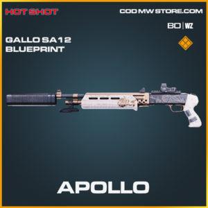 Apollo Gallo SA12 blueprint skin in Black Ops Cold War and Warzone