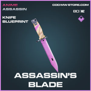 Assassin's Blade knife blueprint skin in Black Ops Cold War and Warzone