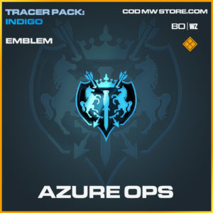 Azure Ops emblem in Black Ops Cold War and Warzone
