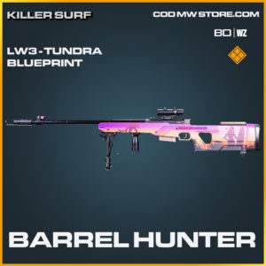 Barrel Hunter LW3 - Tundra blueprint skin in Black Ops Cold War and Warzone