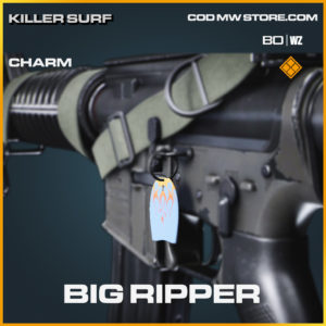 Big ripper charm in Black Ops Cold War and Warzone