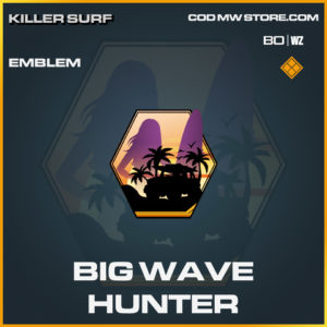 Big Wave Hunter emblem in Black Ops Cold War and Warzone