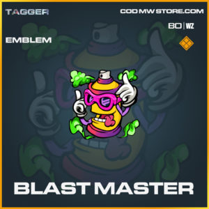 Blast Master emblem in Black Ops Cold War and Warzone