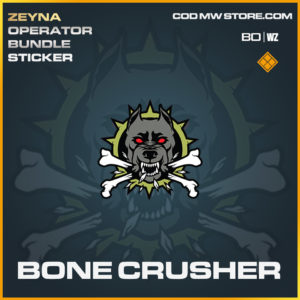 Bone Crusher sticker in Black Ops Cold War and Warzone