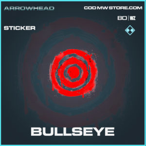 Bullseye sticker in Black Ops Cold War and Warzone