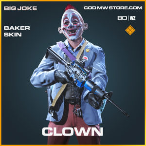 Clown Baker skin in Black Ops Cold War and Warzone