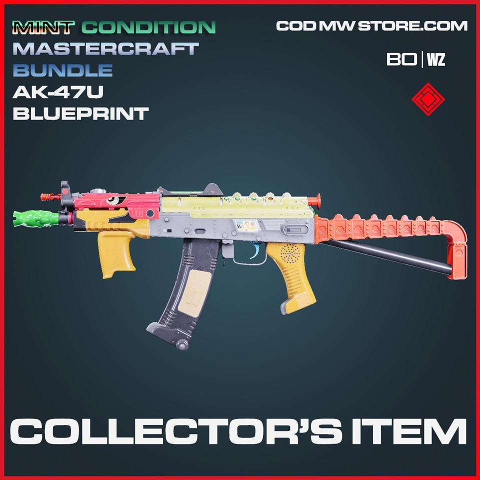 collectors item mint condition ak-47u