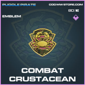 Combat Crustacean emblem in Black Ops Cold War and Warzone