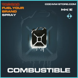 Combustible spray in Modern Warfare and Warzone