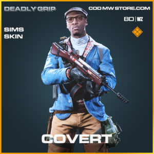 Covert Sims Skin Deadly Grip in Black Ops Cold War and Warzone