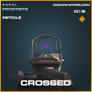 Crossed Reticle in Call of Duty Black Ops Cold War and Warzone