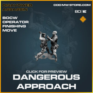 Dangerous Approach operator move in Black Ops Cold War and Warzone