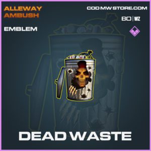 Dead Waste emblem in Black Ops Cold War and Warzone