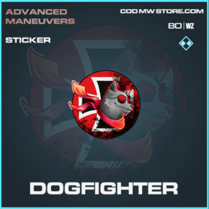 Dogfighter sticker in Black Ops Cold War and Warzone