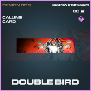 Double Bird calling card in Black Ops Cold War and Warzone
