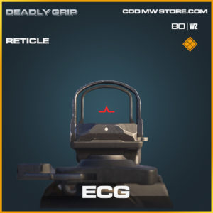 ECG reticle Deadly Grip in Black Ops Cold War and Warzone