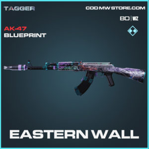 Eastern Wall AK-47 blueprint skin in Black Ops Cold War and Warzone