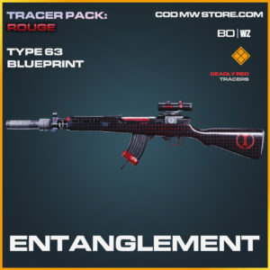 Entanglement Type 63 blueprint skin in Black Ops Cold War and Warzone