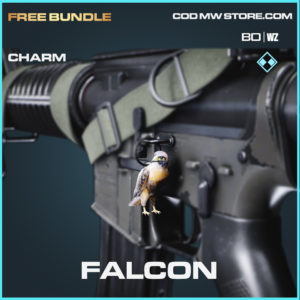 Falcon charm in Black Ops Cold War and Warzone