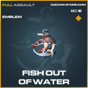 Fish out of water emblem in Black Ops Cold War and Warzone