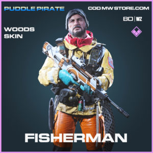 Fisherman Woods skin in Black Ops Cold War and Warzone