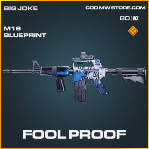 Fool Proof M16 blueprint skin in Black Ops Cold War and Warzone