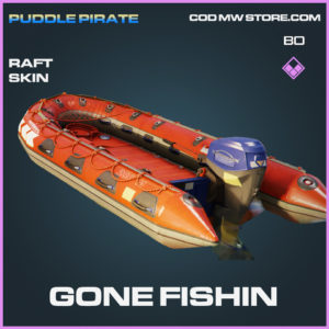 Gone Fishin Raft skin in Black Ops Cold War and Warzone