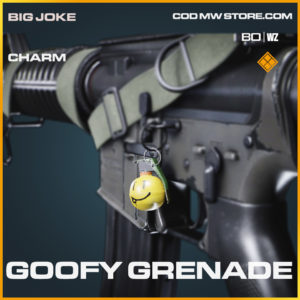 Goofy Grenade charm in Black Ops Cold War and Warzone