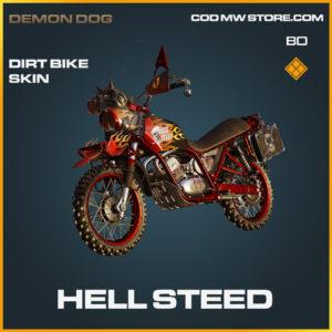 Hell Steed Dirt Bike skin in Black Ops Cold War