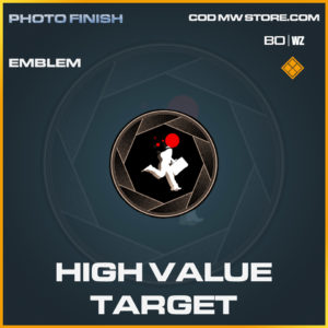 High Value Target emblem in Call of Duty Black Ops Cold War and Warzone