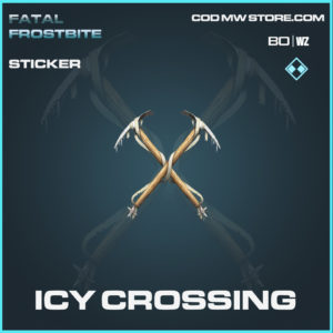 Icy Crossing sticker in Call of Duty Black Ops Cold War and Warzone