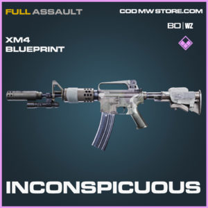 Inconspicuous XM4 blueprint skin in Black Ops Cold War and Warzone